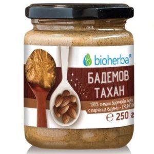 Бадемов тахан с парченца CRUNCHY 250 гр.