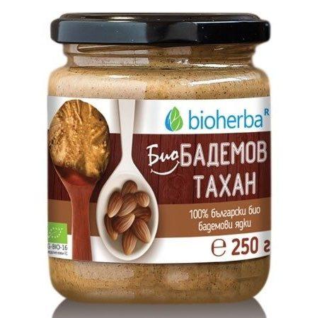 BIO Бадемов Тахан от 100% смлени бадеми 250гр.