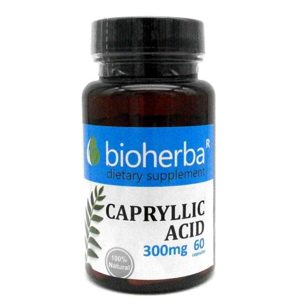 КАПРИЛОВА КИСЕЛИНА БИОХЕРБА капсули*60 300мг. (BIOHERBA CAPRYLLIC ACID) | Информация Цена