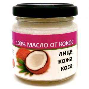 Масло от Кокос (екстра върджин) 100мл. | Radika