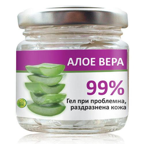 99% Алое Вера гел 100 мл. | Радика (Aloe vera gel | Radika)