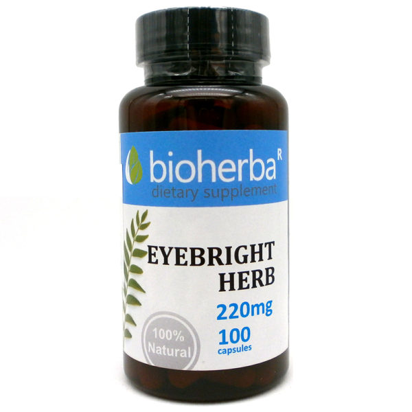 БИОХЕРБА ОЧАНКА КАПСУЛИ 220МГ. * 100 (BIOHERBA EYEBRIGHT HERB) | Цена | Информация